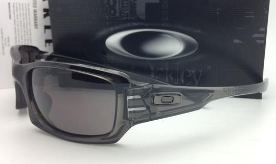 Oakley Authentic OAKLEY Sunglasses FIVES SQUARED OO9238-05 Grey Smoke w/Grey Image 3
