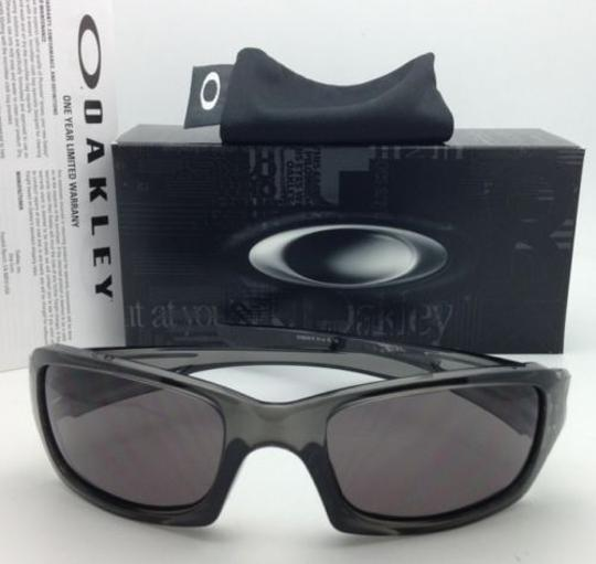 Oakley Authentic OAKLEY Sunglasses FIVES SQUARED OO9238-05 Grey Smoke w/Grey Image 6