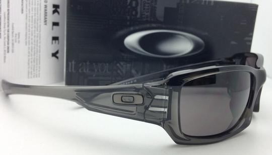 Oakley Authentic OAKLEY Sunglasses FIVES SQUARED OO9238-05 Grey Smoke w/Grey Image 7
