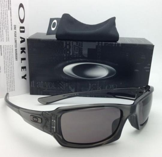 Oakley Authentic OAKLEY Sunglasses FIVES SQUARED OO9238-05 Grey Smoke w/Grey Image 9