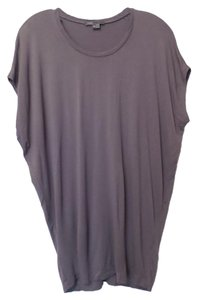 Vince Knit Batwing Sleeveless Top Grey