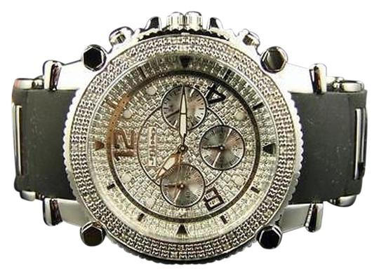 JoJino Mens Jojojojinojoe Rodeo Rubber 25 Diamond Watch