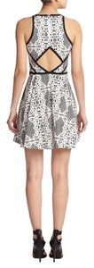 Parker short dress Black Madeira White Designer Cut-out on Tradesy