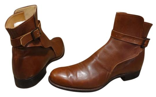 Dehner's Leather Vintage Buckles Brown Boots Image 0
