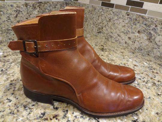 Dehner's Leather Vintage Buckles Brown Boots Image 1