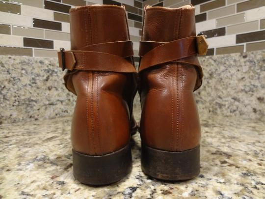 Dehner's Leather Vintage Buckles Brown Boots Image 2