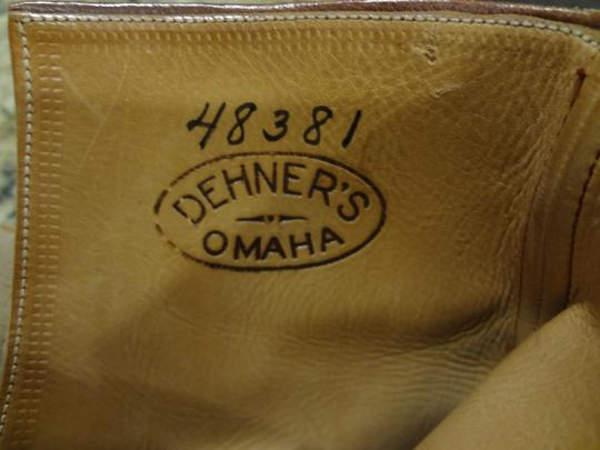 Dehner's Leather Vintage Buckles Brown Boots Image 3