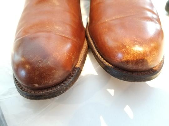 Dehner's Leather Vintage Buckles Brown Boots Image 6