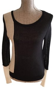 BCBGMAXAZRIA Tops Lightweight Tops Lightweight Sweaters Tank Tops Top Black and White