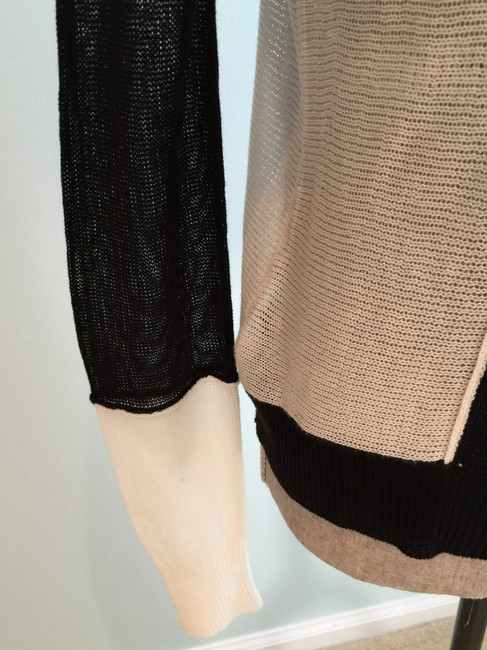 BCBGMAXAZRIA Tops Lightweight Tops Lightweight Sweaters Tank Tops Top Black and White Image 5