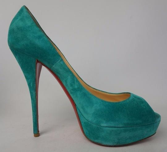 Christian Louboutin Turquoise Pumps Image 2