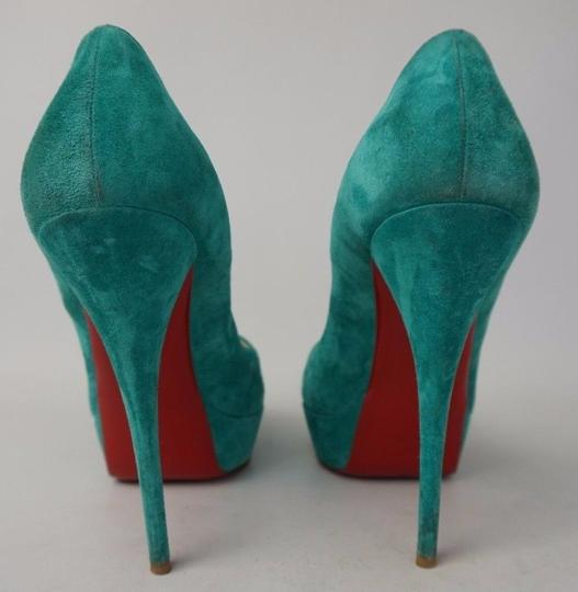 Christian Louboutin Turquoise Pumps Image 5