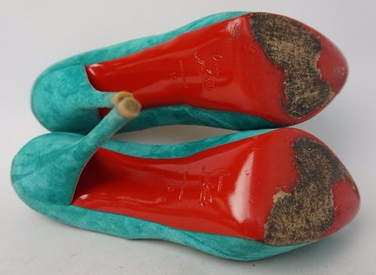 Christian Louboutin Turquoise Pumps Image 6