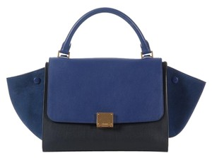 Céline Ce.k0720.03 Blue Black Satchel