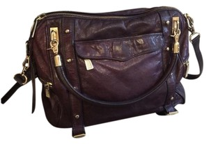 Rebecca Minkoff Satchel in Grape