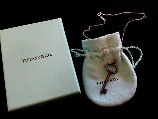 Tiffany & Co. Tiffany & Co. TItanium Key Pendant with Sterling Silver Necklace Image 1