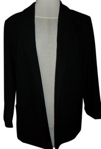 Large Simple Black Blazer