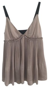Elizabeth and James Top Taupe