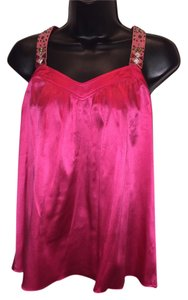 Rebecca Taylor Party Date Night Crystals Top Pink
