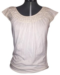 Ann Taylor LOFT Top Off-White