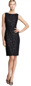Anne Klein Sequin Lace Sheath Dress