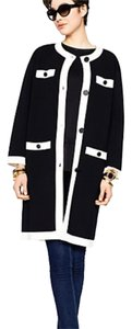 Kate Spade Coat Black white Jacket