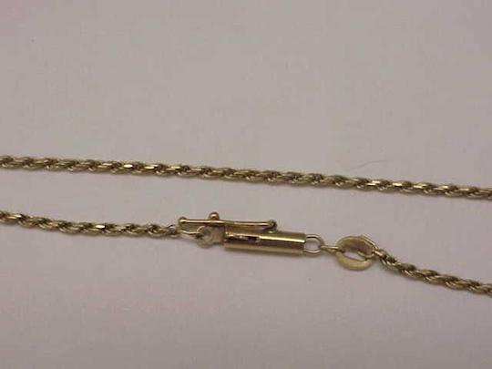 Other Ladies Estate 10k Yellow Gold Rope Style 9