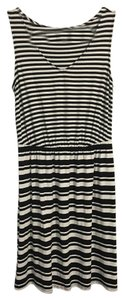 Merona short dress Black and White on Tradesy