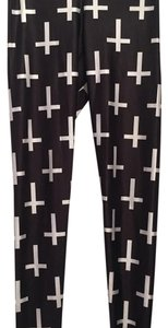 Blackmilk black and white Leggings