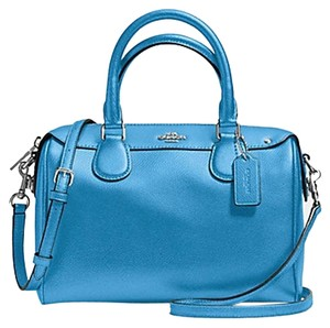 Coach Small Shoulder Strap Satchel in Blue
