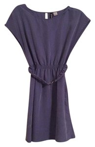 H&M short dress Blue/ purple on Tradesy