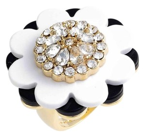 Kate Spade NEW Shadow Blossoms Chic Cocktail Ring, size 7/medium