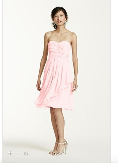David's Bridal Petal Chiffon Formal Bridesmaid/Mob Dress Size 2 (XS) Image 1