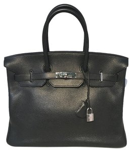Hermès Birkin Tote in black