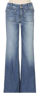 JOE'S Jeans Trouser Denim Trouser/Wide Leg Jeans-Medium Wash