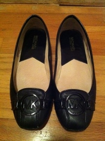 MICHAEL Michael Kors Fulton Moc 40t8fufp2l Leather Black Flats