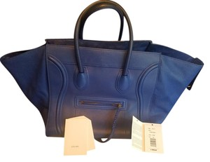 Céline #celine Tote in Royal Blue