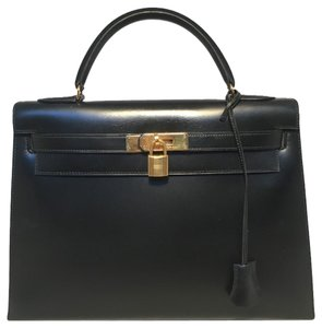 Hermès Hermes Kelly Kelly Tote in black