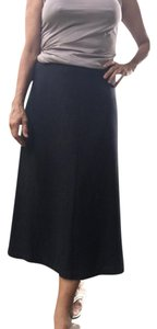 Eileen Fisher Maxi Skirt Black/Dark Charcoal