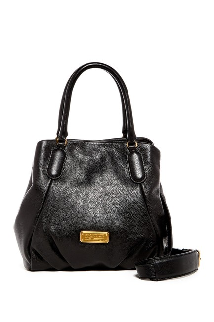 Marc by Marc Jacobs Shoulder Bag Q Fran Black Leather Satchel Marc by Marc Jacobs Shoulder Bag Q Fran Black Leather Satchel Image 1
