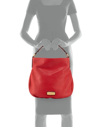 Marc by Marc Jacobs Leather Q Hiller Pebbled Leathr Style #: M0005340 Hobo Bag Image 10