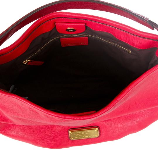 Marc by Marc Jacobs Leather Q Hiller Pebbled Leathr Style #: M0005340 Hobo Bag Image 3