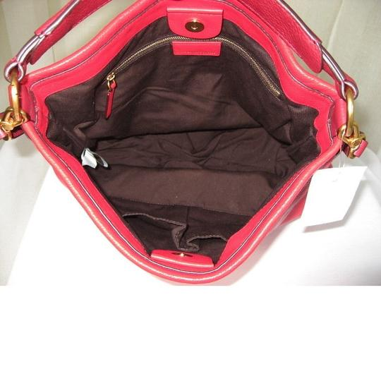 Marc by Marc Jacobs Leather Q Hiller Pebbled Leathr Style #: M0005340 Hobo Bag Image 4