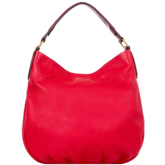 Marc by Marc Jacobs Leather Q Hiller Pebbled Leathr Style #: M0005340 Hobo Bag Image 5