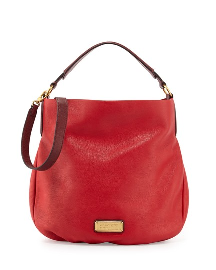 Marc by Marc Jacobs Leather Q Hiller Pebbled Leathr Style #: M0005340 Hobo Bag Image 7