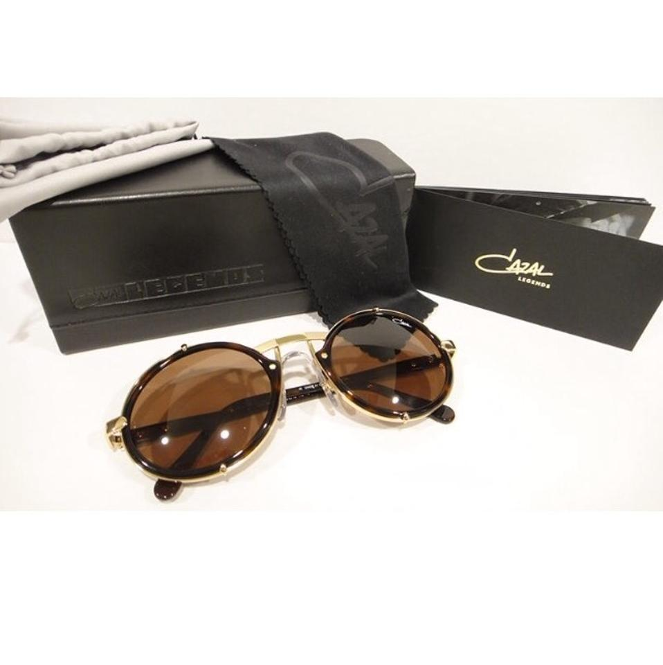 8a8728449711 Cazal CAZAL 644 Sunglasses Legend Brown Gold (COL-7) AUTHENTIC New Image 3.  1234