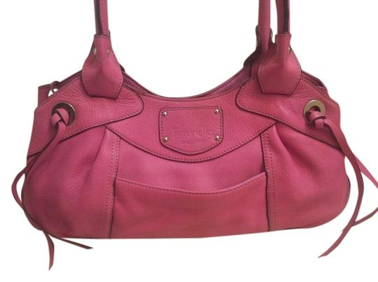 Preload https://img-static.tradesy.com/item/18859471/tignanello-shoulder-pink-leather-satchel-0-1-540-540.jpg