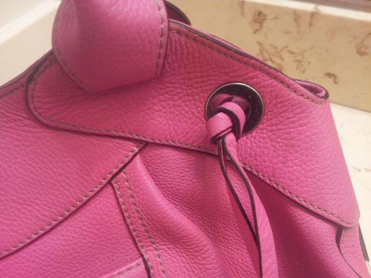 Tignanello Satchel in Pink Image 10
