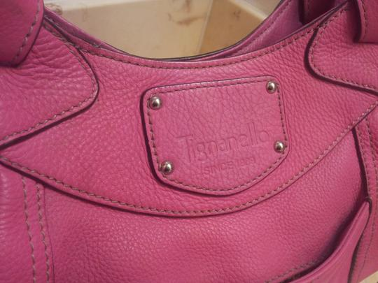 Tignanello Satchel in Pink Image 6