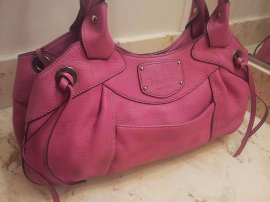 Tignanello Satchel in Pink Image 7